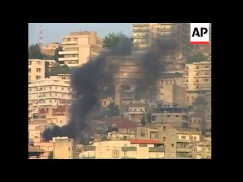 Heavy fighting in Mount Lebanon