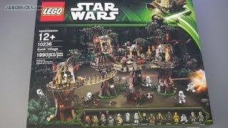 LEGO Star Wars Ewok Village SPEED BUILD! Set 10236