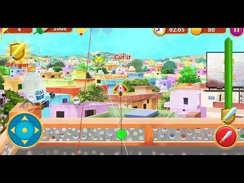 Kite Flying Game | Kite Games | Indian Kite Game | Kite Game Video | Kite Game For Android