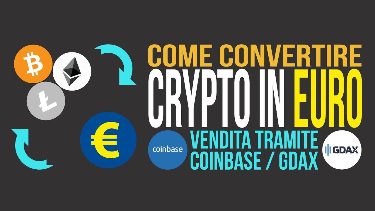 Fare trading su GDAX: Bitcoin, Bticoin Cash, Ethereum, Litecoin