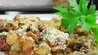 Баклажаны запеченные с помидорами видео рецепт(Приготовлено по рецепту из книги