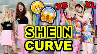 SHEIN HAUL 2021   I BOUGHT EVERYTHING FROM A SHEIN CURVE FACEBOOK AD!! SHEIN PLUS SIZE HAUL & TRY ON