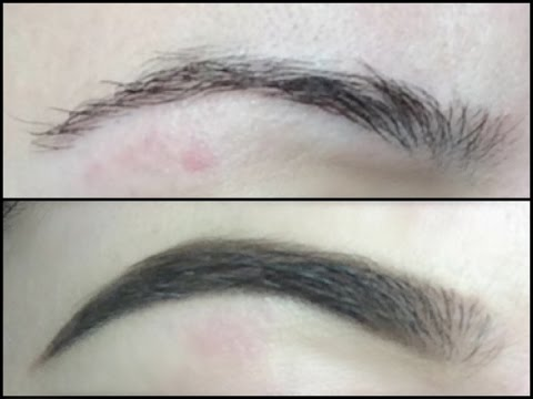 LONGEST Lasting Waterproof Eyebrow Routine ft. Makeup forever Aqua Brow