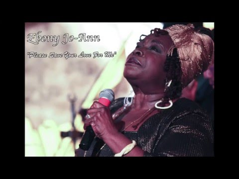 Ebony Jo-Ann Celebrates New CD, Please Save Your Love for Me at Sugar Bar in April