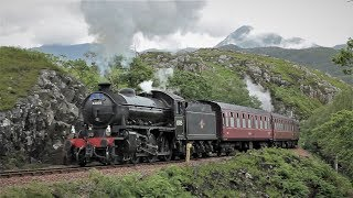 Steam in the Highlands - The Jacobite Steam Train July 2017