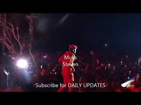 BOBI WINE PERFOMING KYARENGA SONG WITH TAATA SAM AT KYARENGA CONCERT-New Ugandan music videos 2018