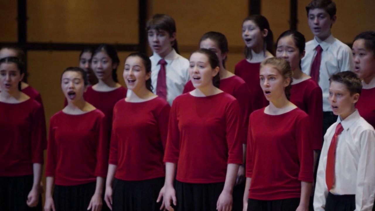 Toronto Children's Chorus Chamber Choir - Wir eilen mit ...