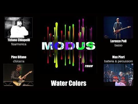 MODUS Chiapelli Bifano Poli Pieri WATER COLORS Max Pieri drums