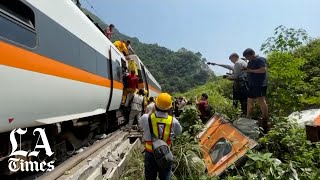 At least 51 dead in Taiwan's worst train crash, dozens injured