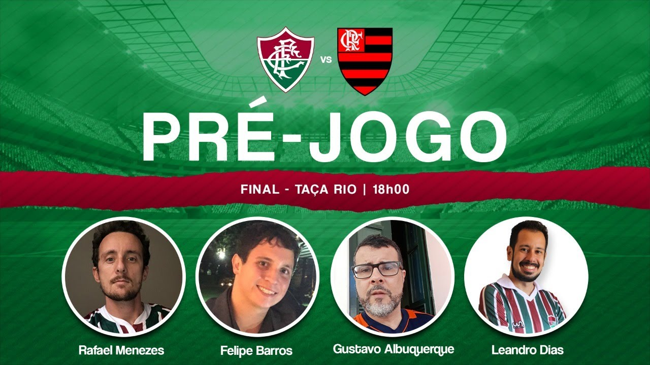 PRÉ-JOGO | Fluminense x Flamengo – Final da Taça Rio – NETFLU