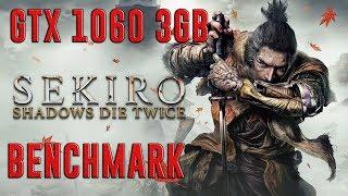 SEKIRO: SHADOWS DIE TWICE  | EVGA GTX 1060 3GB + I5-7400 + 8GB RAM | ULTRA - 1080p | BENCHMARK