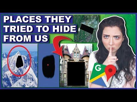 Blacked Out Places Google Maps Tried To Hide From Us