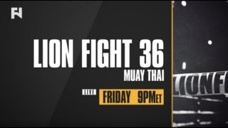 Lion Fight 36 LIVE Fri., April 28, 2017 at 9 p.m. ET on FN Canada & International
