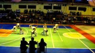JAVIER CHANDUVI - 1° Puesto en Aerodance, Concurso de Gimnasia, Colegio Santa Ana