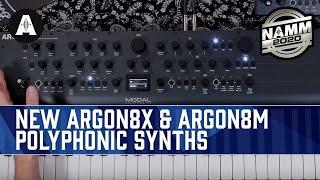 Modal Electronics Just Got Bigger! - NEW Argon8X & Argon8M Synthesizers - NAMM 2020
