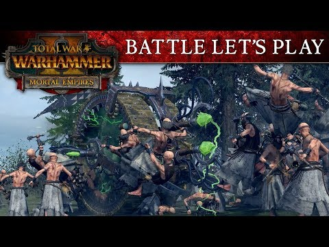 Total War: WARHAMMER 2 - Mortal Empires Battle Let's Play