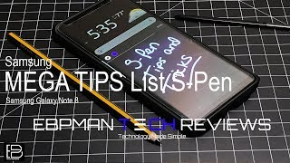Ultimate Mega List of Tips and Tricks for the S-Pen in the Samsung Galaxy Note 8
