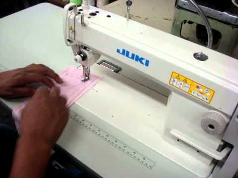 Juki DDL40N Single Needle Sewing Machine YouTube Gorgeous Juki Ddl 5550 Industrial Straight Stitch Sewing Machine