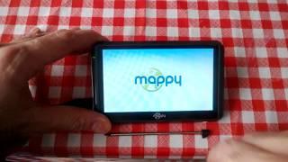 GPS Mappy Ulti E508ND screenshot 1