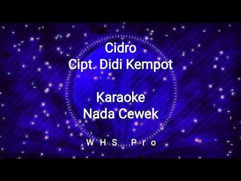 cidro-karaoke-didi-kempot-nada-cewek-(karaoke-version)