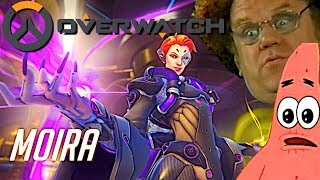 Overwatch - New Hero Moira Reveal Trailer But Better (Funny Edit)