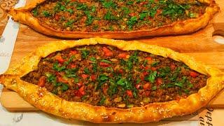 ПИДЕ или пицца по Турецки !Турецкая кухня!