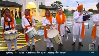 WA SIKH BAND 2015- TV INTERVIEW