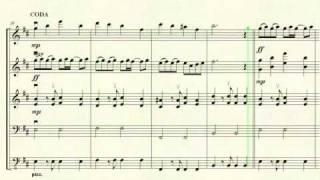Vestido azul (LODVG) - arreglo para orquesta de cámara