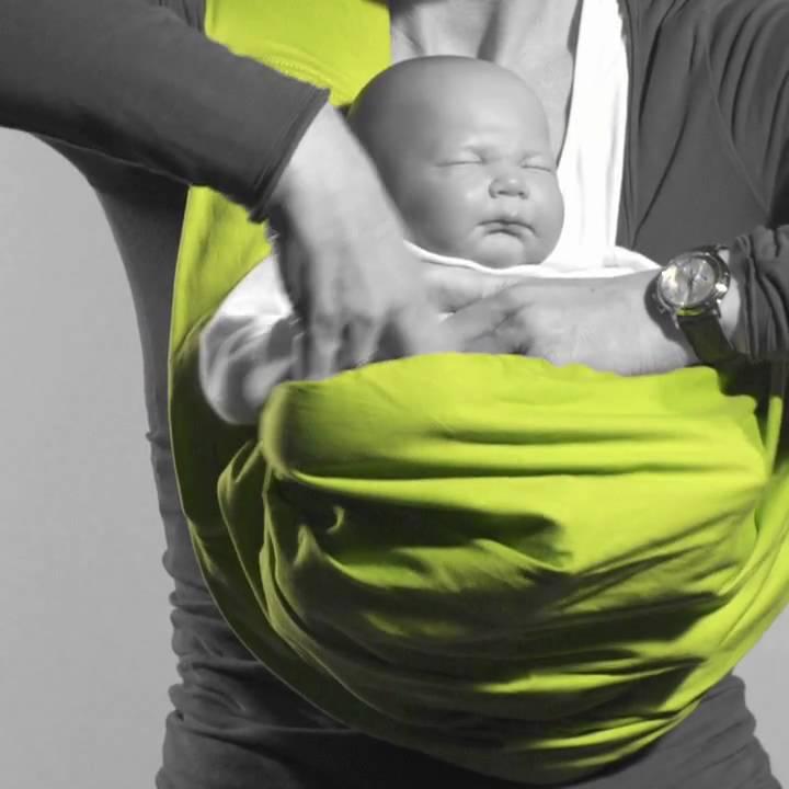 ceafbcf13da Instruction Baby Sling Minimonkey Kangaroo.mov - YouTube