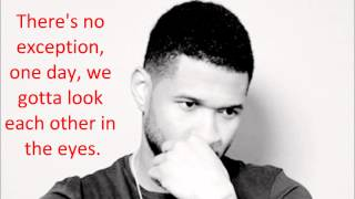 Usher - Lessons for the lover lyrics