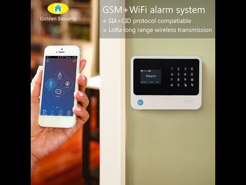 GSM 3G WIFI GPRS SMS Home Security Alarm System GS-G90B PLUS