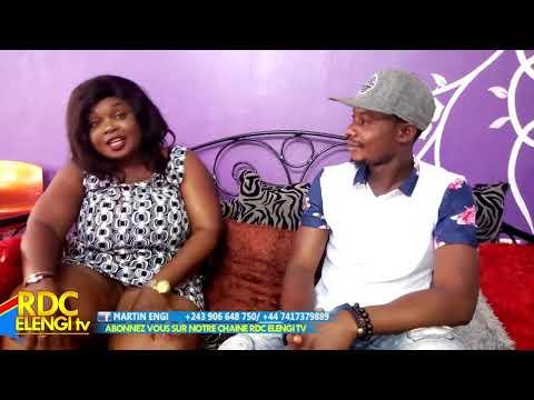 Eyindi Carine mokonzi akosana na buzoba fille oyo alongoli bilamba na émission 100% Bêtises-18