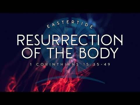 Devotional 312 - 'The nature of the resurrected body' (1 Corinthians 15.35-44).