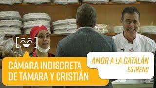 Cámara indiscreta de Tamara y Cristián   Amor a la Catalán