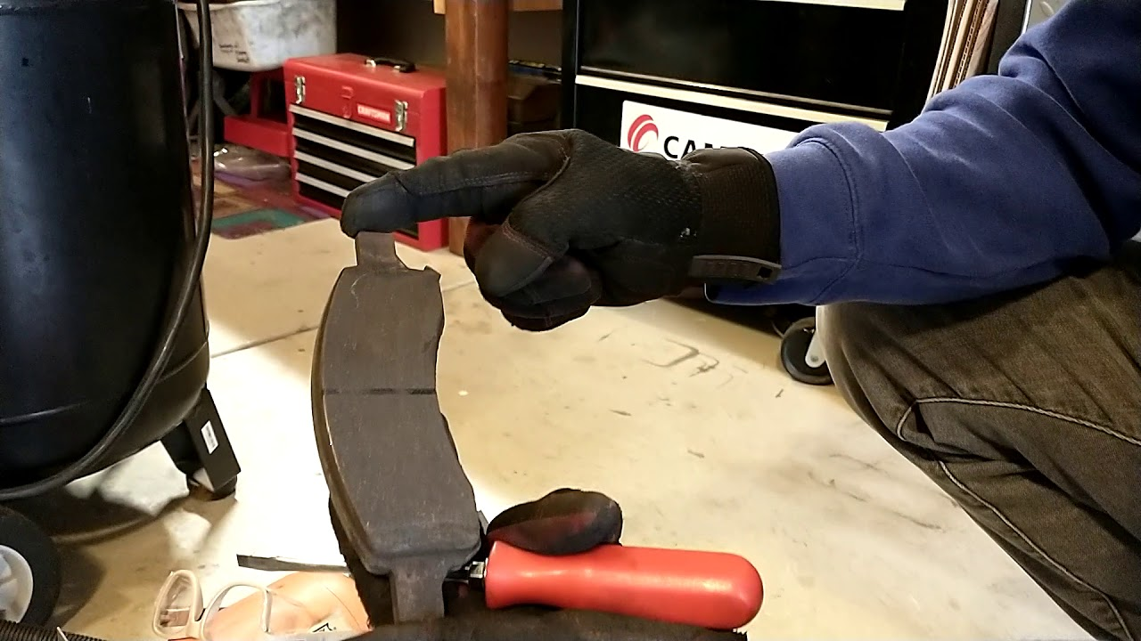 Quick tip for making your brake jobs last!  Fixing a seized brake pad.