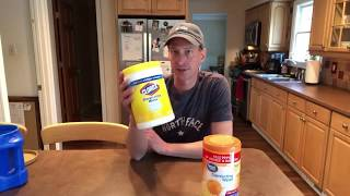 DIY Clorox Wipes Round Two - Lasts For Weeks and Makes HUNDREDS of Gallons Cheap