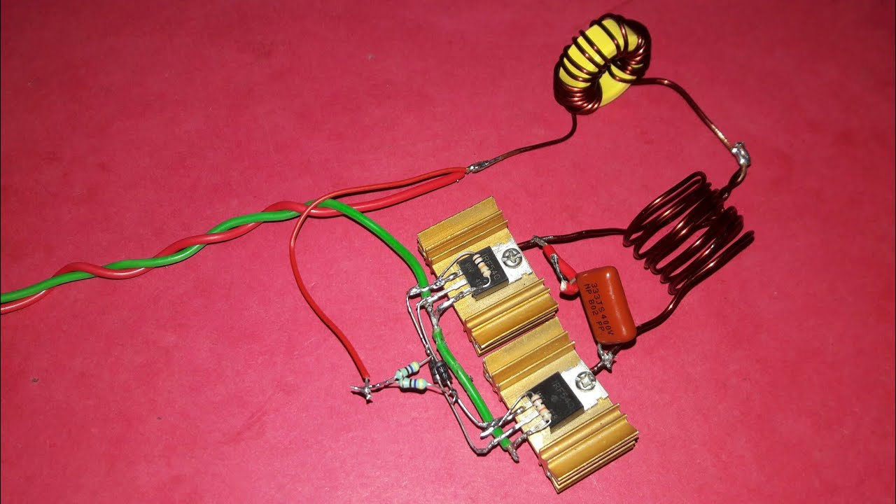hight resolution of induction heater circuit 12v dc