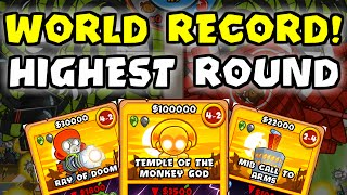 BTD Card Battles - Highest Round World Record