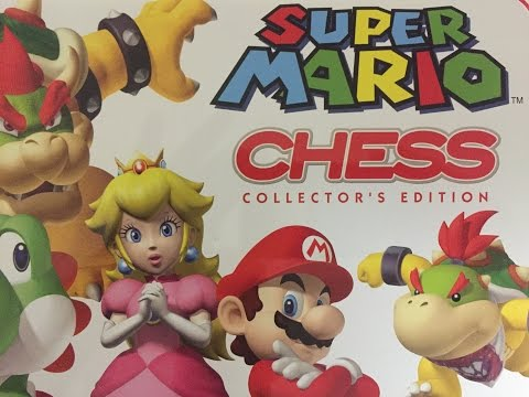Out of the Box Super Mario Chess Collector's Edition
