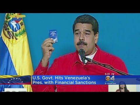 US Slaps Sanctions Against Maduro After Controversial Venezuela Vote