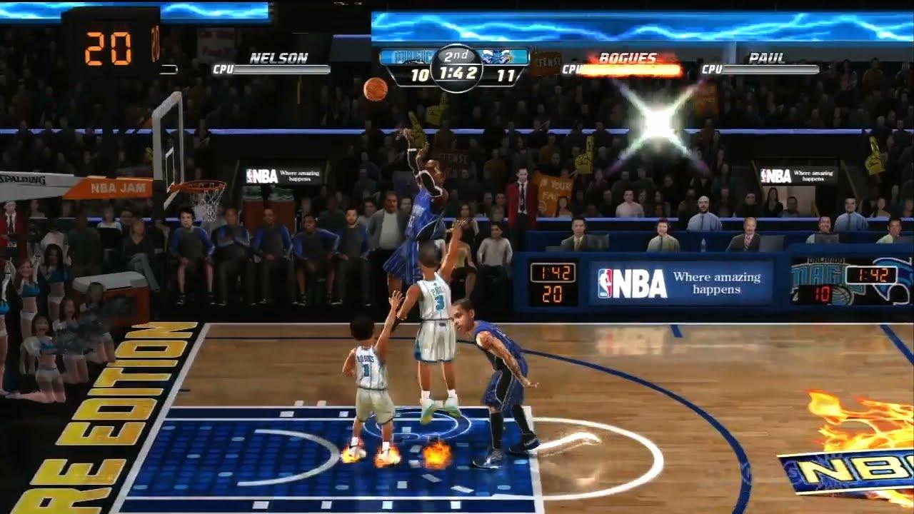 NBA Jam: On Fire Edition Magic vs. Hornets - Gameplay ...
