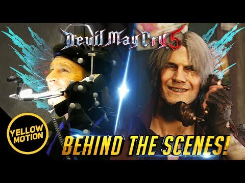 Devil May Cry 5 | Reuben Langdon Dante Mocap Comparison - Live Action Performance Behind the Scenes thumbnail