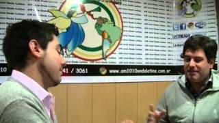 Día Arriba (Am 1010 Onda Latina)  - Leo Requelme con Gonzalo Blousson Presidente del PLL-