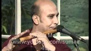 Baqir Abbas Playing Savan Ki Bheegi Raato Main On Bansuri Flute