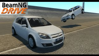 BeamNG DRIVE mod car Opel astra H