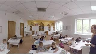 Школа гуманной педагогики «Город Солнца». Видео 360 градусов.