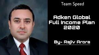 Adken Global Full Income Plan 2020   Rajiv Arora   Adken Global   Team Speed