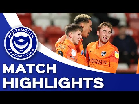Cheltenham Portsmouth Goals And Highlights