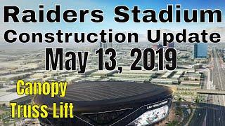Las Vegas Raiders Stadium Construction Update 05 13 2019