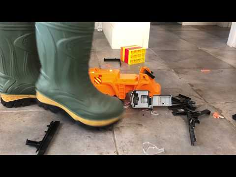 Cofra boots stomp plastic toy